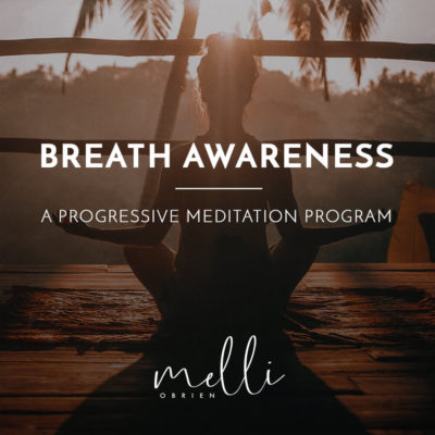 Breath Awareness Meditation Album Cover